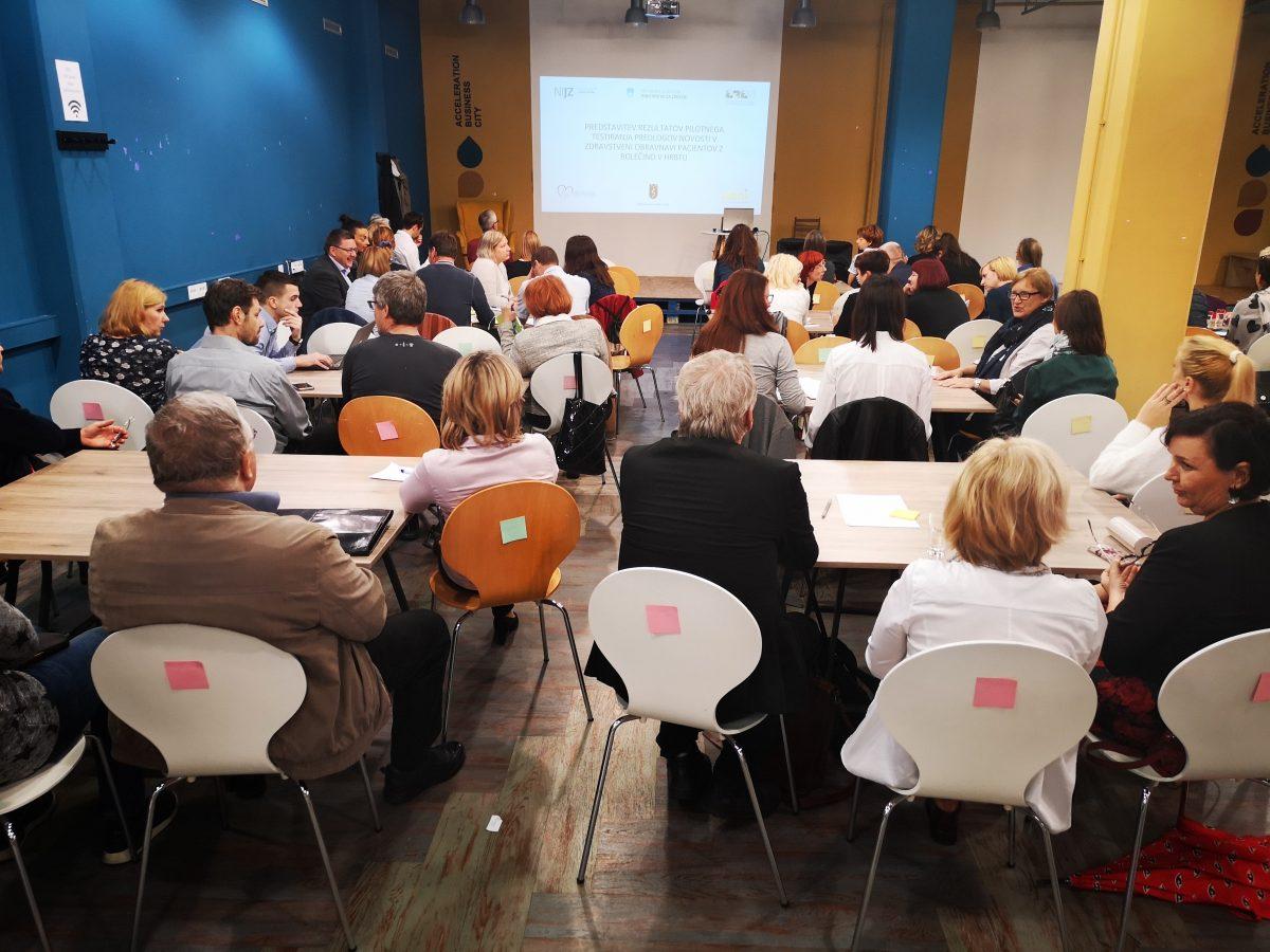 Prva javna predstavitev rezultatov projekta Bolečina v hrbtu